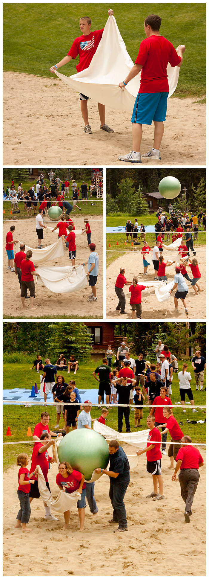 Aspen Grove Giant Volley Ball