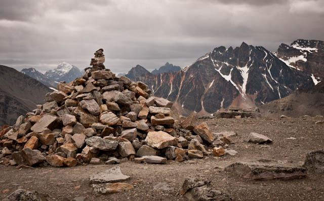 Algunos de los picos más altos de Jasper