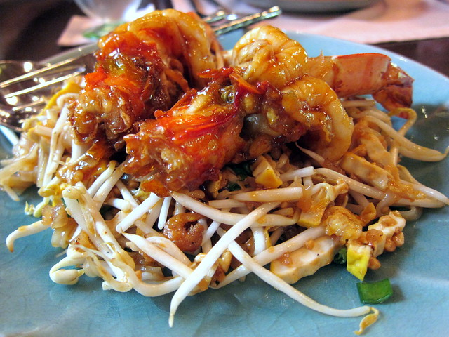 Pad Thai with Tiger Prawn