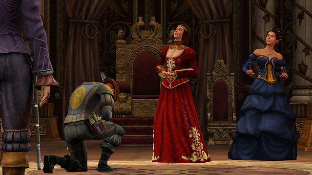 The Sims Medieval: Pirates and Nobles Queen