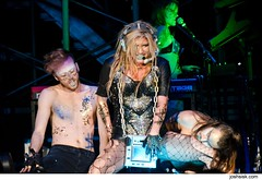 Ke$ha @ Patriot Center. (joshsisk) Tags: party music usa st photography washingtondc photo dc washington dance concert photos live livemusic style pop concerts fairfax electronic pho popmusic sleazy washingtonpost gmu kesha 2011 patriotcenter joshsisk keha getsleazy