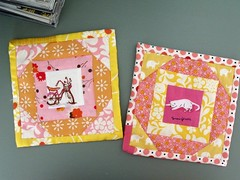 Little coasters (_name_taken_) Tags: munkimunki denyseschmidt fleamarketfancy heatherross lightningbugsandothermysteries katiejumprope sandihenderson hennagarden daiwaboelephants