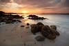 teaser (Jazpar) Tags: sunset beach landscapes singapore rocks seascapes fishermen punggol lessismore happier leefilters epiclight