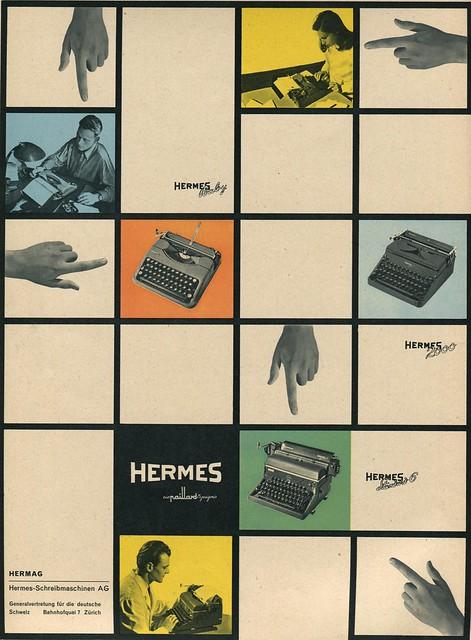 Hermes Reklame DU 1948-08