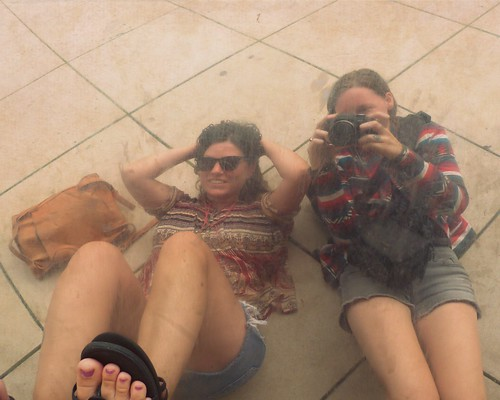 Me and Jess in the bean