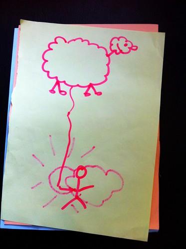 Ett flygande får från min session på #sswc