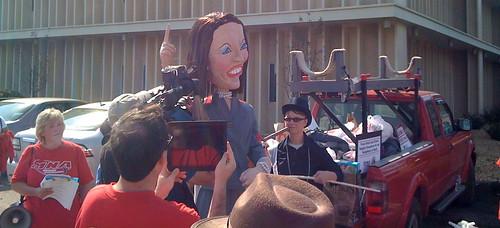 Michele Bachmann Protest