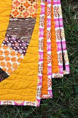 Single Girl Quilt (Jeni Baker   In Color Order) Tags: modern quilt handmade sewing quilting stitching block quilts crafting