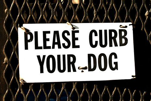 Please Curb Your Dog