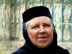 Portrait of a nun  (Moldovita, Romania) (Frans.Sellies) Tags: portrait retrato portrt nun romania non ritratto roumanie nonne romnia roemenie roumania romanya rumnien roemeni romnia    p1330222