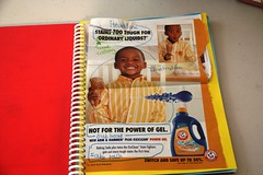 advertising notebook sample ad