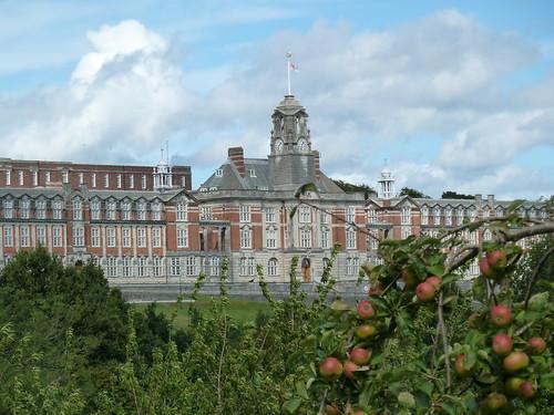 Britannia Royal Naval College - Dartmouth - destination for charter trains