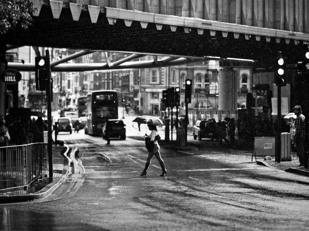 Gentle Summer Rain, London Bridge