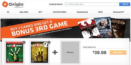 EA Selling Boxed Valve Games Through Origin