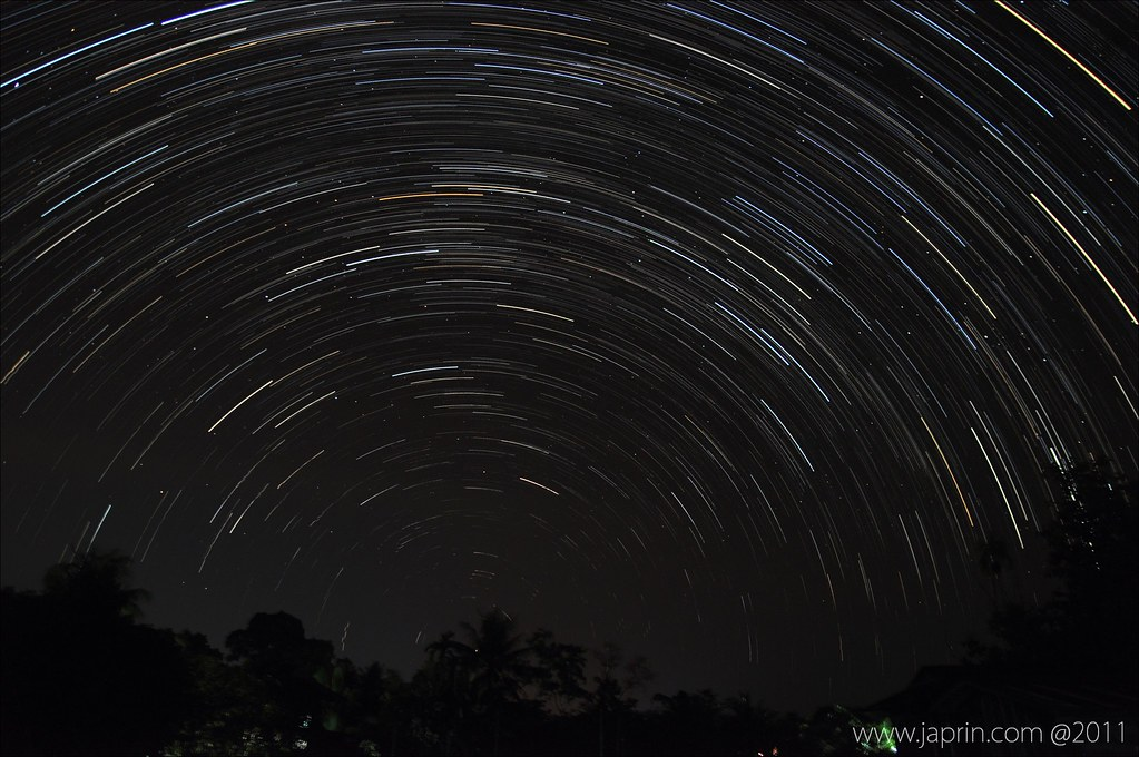 My 1st Startrails