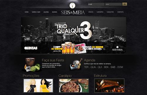 Banner Seis & Meia - Aplicado by chambe.com.br