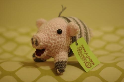 Buta san the pig -amigurumi #39 (angle 2)