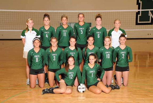 2011 Mason varsity volleyball team