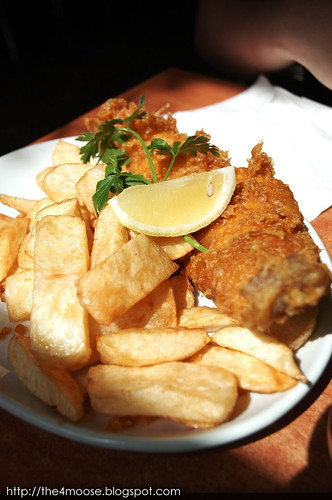 Rock and Sole - Large Fish and Chips (Cod)