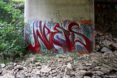 WREKS (Hahn Conkers) Tags: columbus ohio graffiti wreks