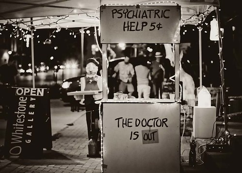 Psychiatric Help 5¢ by Krista Kruger