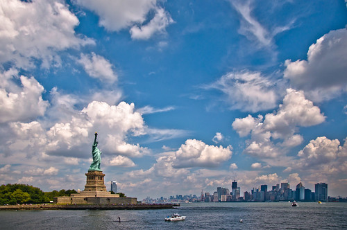 Statue of Liberty & Manhattan