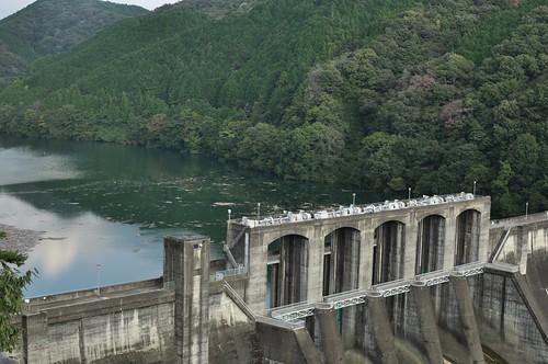 Maruyama dam / 丸山ダム