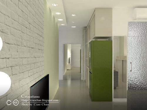 小坪數室內設計-測試Vray 3-06