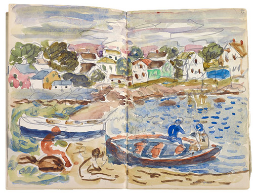 prendergast sketchbook entry