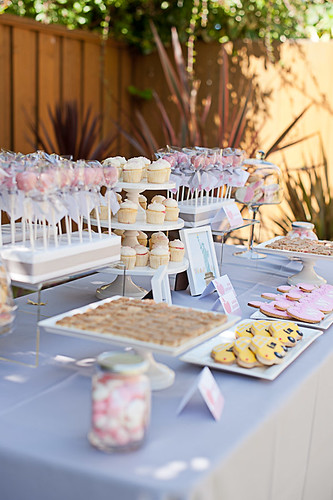 Dessert Table Side View