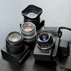 RICOH GXR MOUNT A12 My Useful set for traveling (Masa Angenieux) Tags: leica macro set lens 50mm voigtlander 28mm super m f45 mount gr ricoh 15mm f25 a12 useful 75mm gxr aspherical  summicronm wideheliar   225mm f250mm  ricohgxr