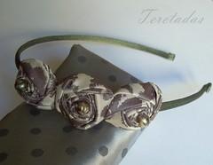 D.rosas3 (Teretadas) Tags: handmade headband hechoamano diademas fabricroses accesoriosparaelcabello rosadetela