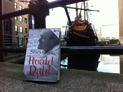Roald Dahl's Biography, part of the Guardian Book Swap