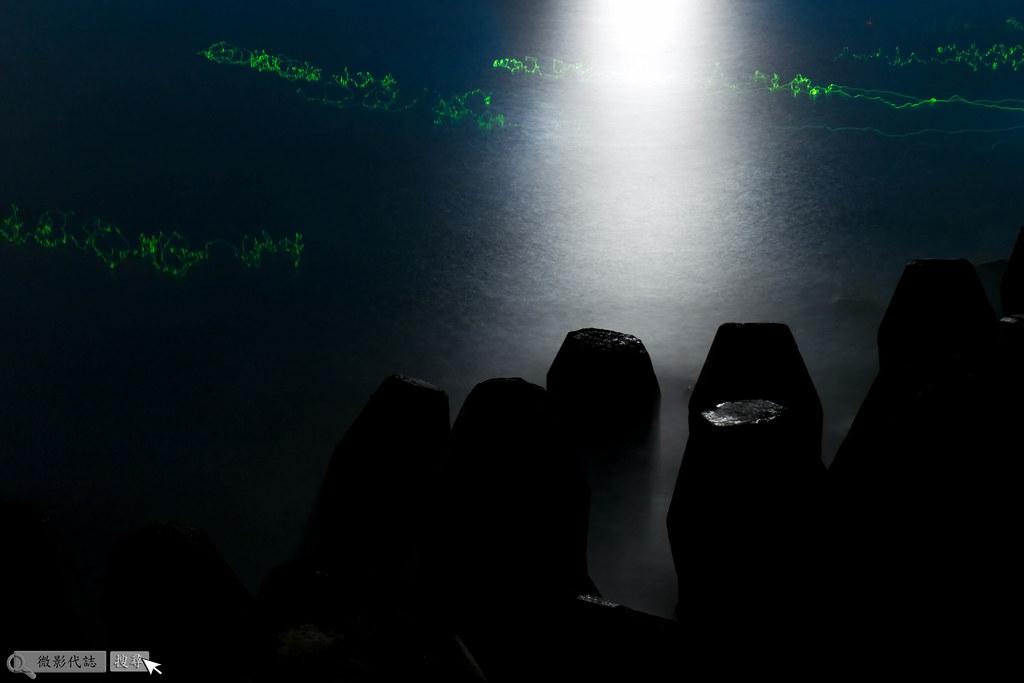 烏石港堤防夜拍 017