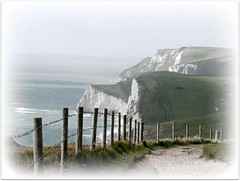 Dorset Coastline (St Clements) Tags: sea fence path somerset cliffs barbedwire lulworth clifftop somersetdorset blinkagain pipexcellence bestofblinkwinner bestofblinkwinners blinkagainsuperstars blinksuperstar blinksuperstars