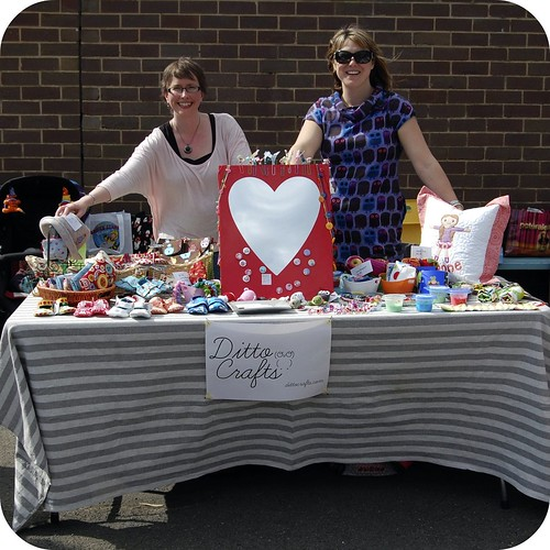 Ditto Crafts Stall at our school fete