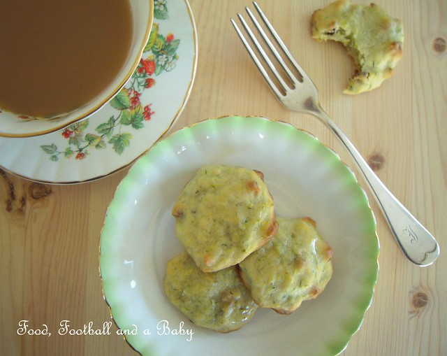Lemon Courgette Cookies