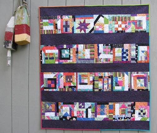 Kleenex Box Quilt by lollyquiltz