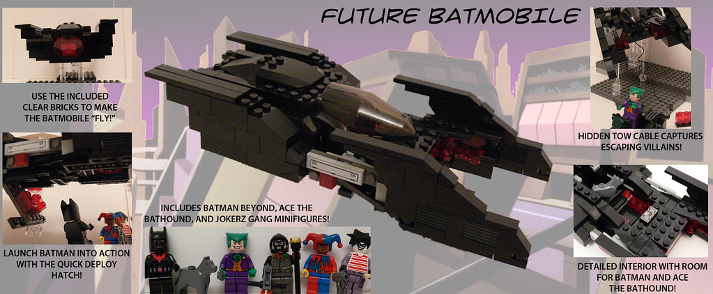 Batman Beyond Lego Sets Custom Lego Minifigs P...