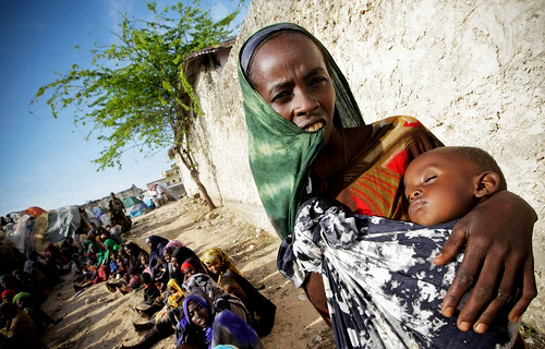 African Union Brings Assistance to Drought-Stricken Somalis