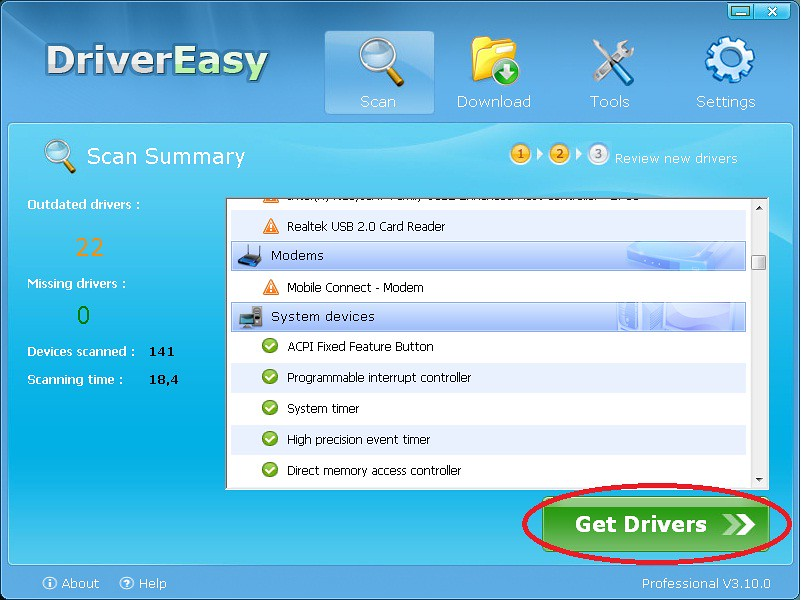 how to use driver easy speak