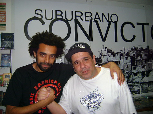 Alessandro Buzzo( Suburbano Convicto) e Diko (Samba do Monte) by Projeto Comunidade Samba do Monte