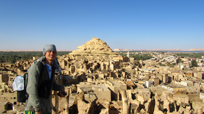 At the Siwa Oasis in Egypt