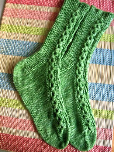 Candelabra socks 1c
