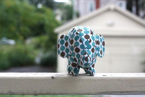 Elephant Softie-blue spots-06