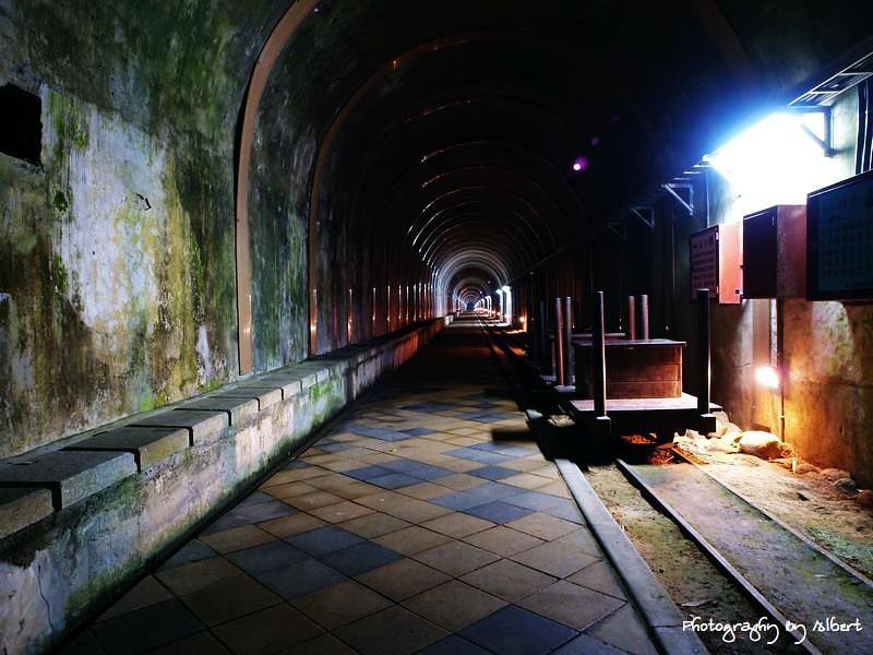 大溪.舊百吉隧道:夜景