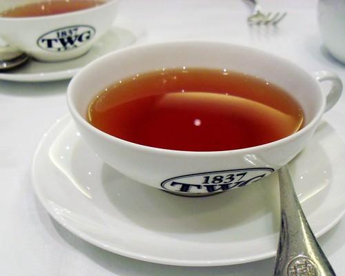 TWG vanilla bourbon tea