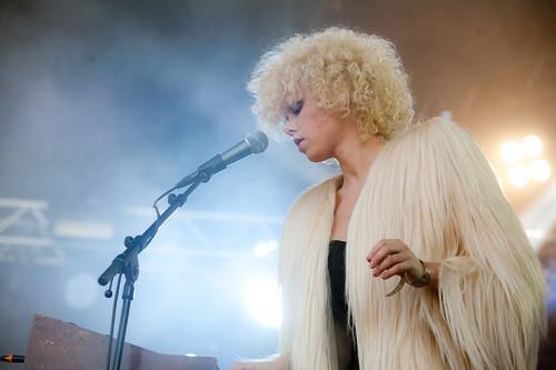 Montée på Øyafestivalen 2011