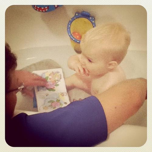 Bath time is fun!