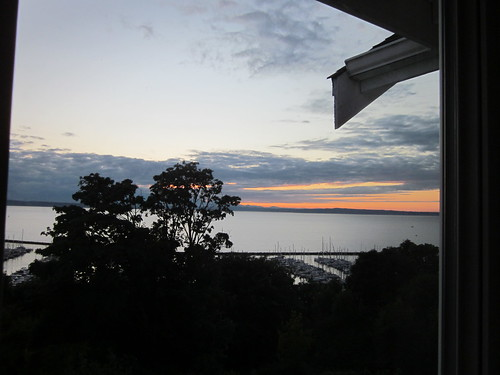 Sunset from Ross's deck